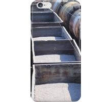 transportation of goods by rail iPhone Case/Skin