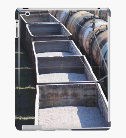 transportation of goods by rail iPad Case/Skin