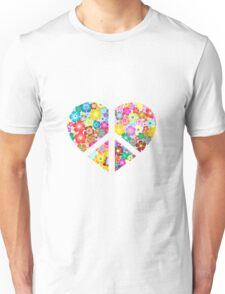 Love to Earth and its Flowers Unisex T-Shirt