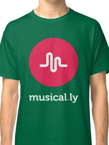 Musical.ly symbol Classic T-Shirt