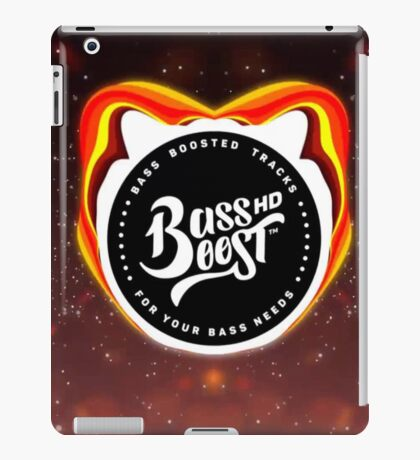 BASS BOOSTED BEATS iPad Case/Skin