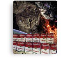 campbells cats Canvas Print