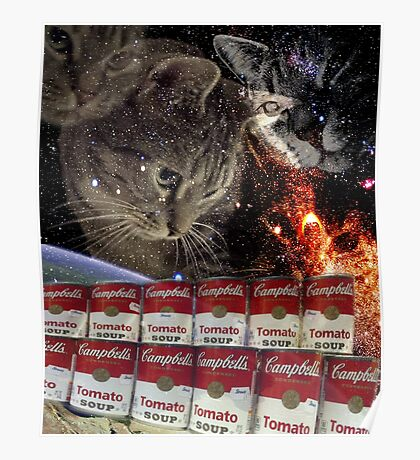 campbells cats Poster