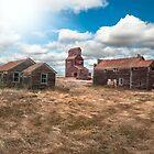 Ghost Town - Bents, Saskatchewan, Canada by Patrick Kavanagh