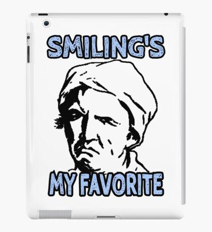 Ironic Smiling is my Favorite iPad Case/Skin