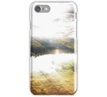 Sunlight at the lake iPhone Case/Skin