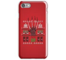 Ugly Nightmare of a Sweater iPhone Case/Skin