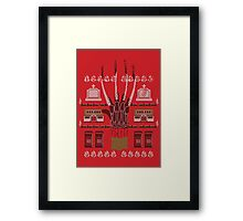 Ugly Nightmare of a Sweater Framed Print