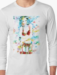 WATERCOLOR WOMAN.17 Long Sleeve T-Shirt