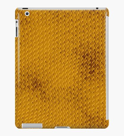 Snake Skin - Gold iPad Case/Skin
