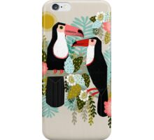 Toucans by Andrea Lauren  iPhone Case/Skin