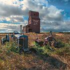 Bents Grain Elevator by Patrick Kavanagh