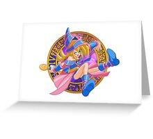 Toon Dark Magician Girl Greeting Card
