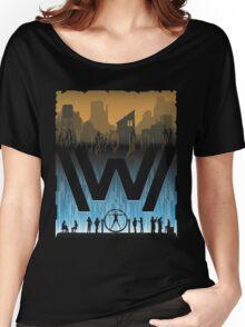 Go Between Worlds Women's Relaxed Fit T-Shirt