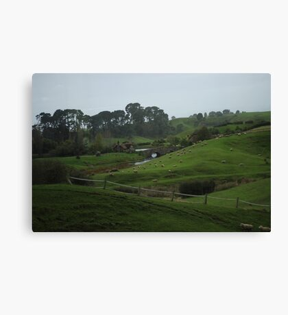 To The Green Dragon Canvas Print