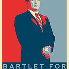 Bartlet for President T-Shirt by PopHatesFags