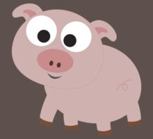 Cute pink pig Kids Clothes