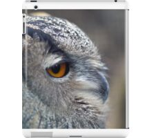 Eagle Owl iPad Case/Skin