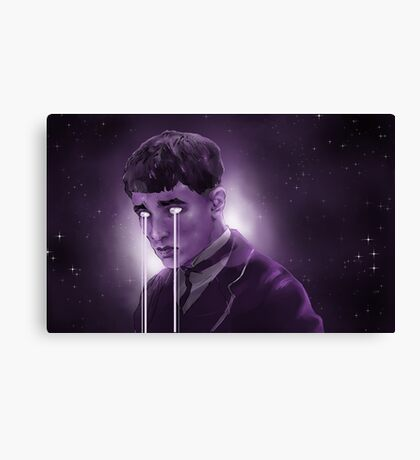 The Boy Who Lived in Fear Canvas Print