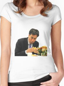 Ed Miliband Women's Fitted Scoop T-Shirt
