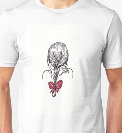 Plait Hairstyle Unisex T-Shirt