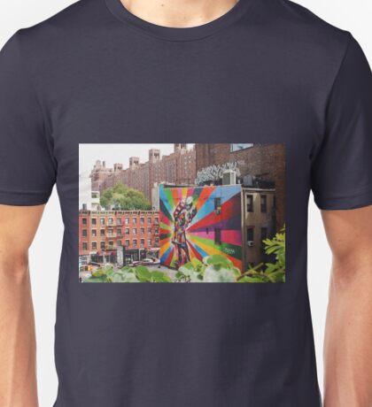 A New York City Kiss Unisex T-Shirt