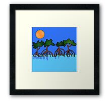 Four Brothers Mangroves Framed Print