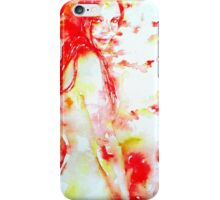 HER HEALING TOUCH iPhone Case/Skin