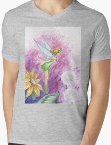 Tinkerbell Mens V-Neck T-Shirt
