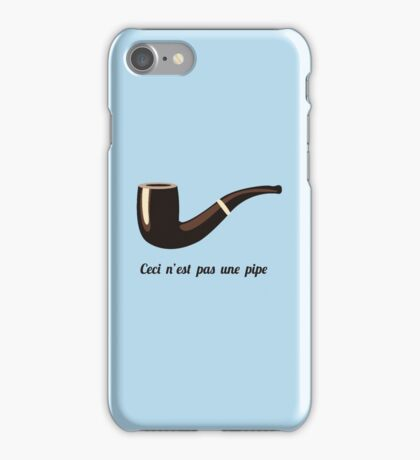 This is not a pipe iPhone Case/Skin