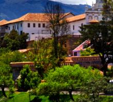 Rio Tomebamba, Puente Roto, Todos Santos, Cuenca, Ecuador Sticker