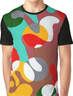 Psychedelic Miami Graphic T-Shirt