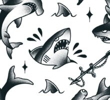 sharks are your friends! Sticker