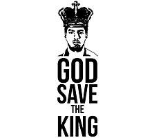 Luis Suarez - God Save The King Photographic Print