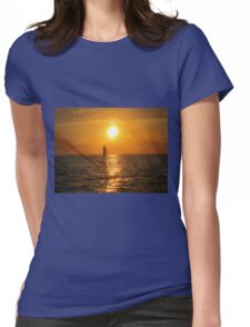 Moment of Serenity Womens Fitted T-Shirt