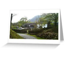 Yew Tree Farm, Coniston UK Greeting Card