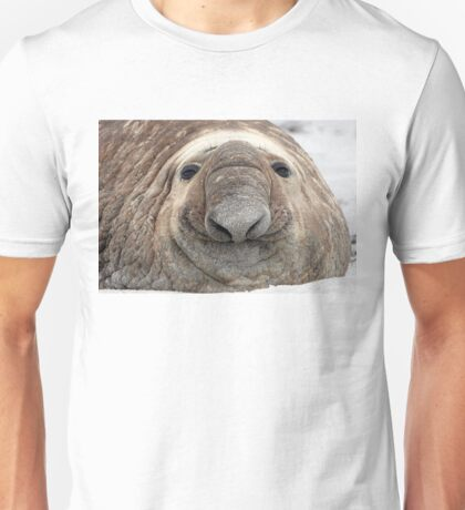 The Beach Master  ~  Southern Bull Elephant Seal Unisex T-Shirt
