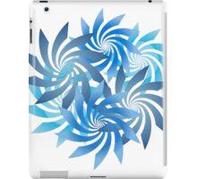 Spiral Cluster - Blues iPad Case/Skin