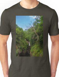 Idyllic Waterfall Unisex T-Shirt