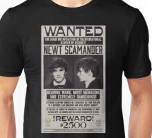 Fantastic Beasts Newt Scamander Wanted Unisex T-Shirt