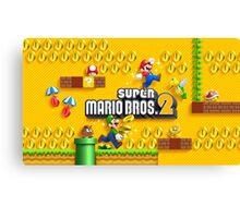 Super Mario Bros. 2  Canvas Print