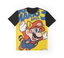 Super Mario Bros. 3 Re-Colored  Graphic T-Shirt