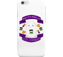 Pumpkin Spice Ghostie iPhone Case/Skin