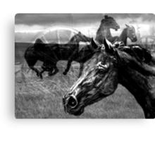 Western Montage  Canvas Print