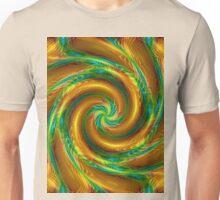 Fractal Spiral Vortex Unisex T-Shirt