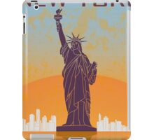New York vintage poster iPad Case/Skin