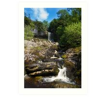 Yorkshire dales Waterfall  Art Print