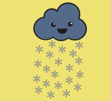 Joyful Snow Cloud One Piece - Short Sleeve