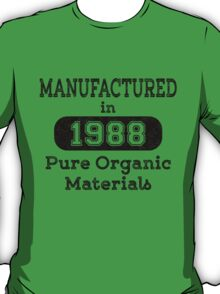Manufactured in 1988 T-Shirt