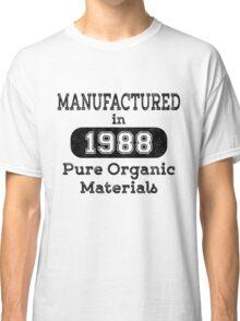 Manufactured in 1988 Classic T-Shirt